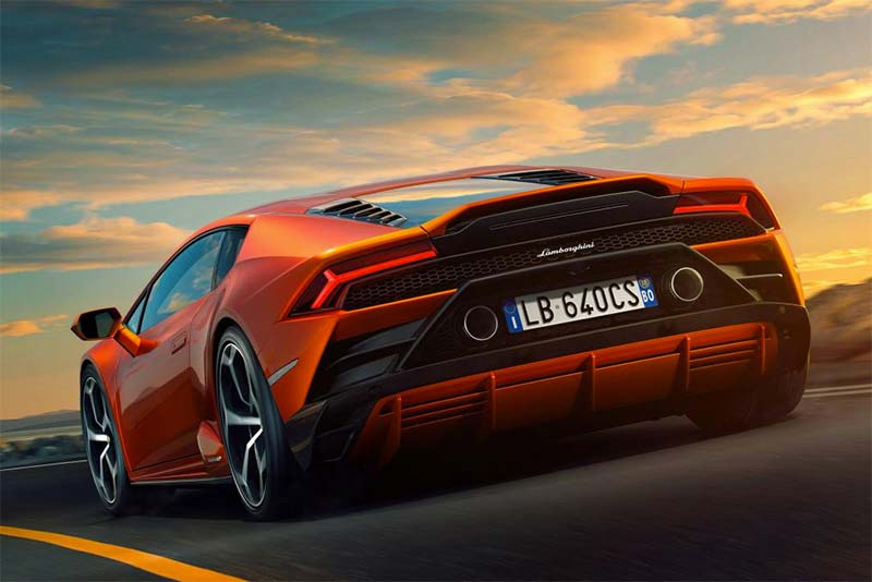 Lamborghini Reveals Its 2019 Huracan EVO
