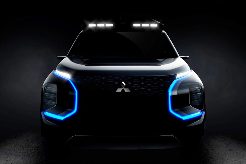 news,e-Evolution,dynamic shield,technology,SUV,EV,All Electric,Mitsubishi Engelberg Tourer Concept,Automotive,
