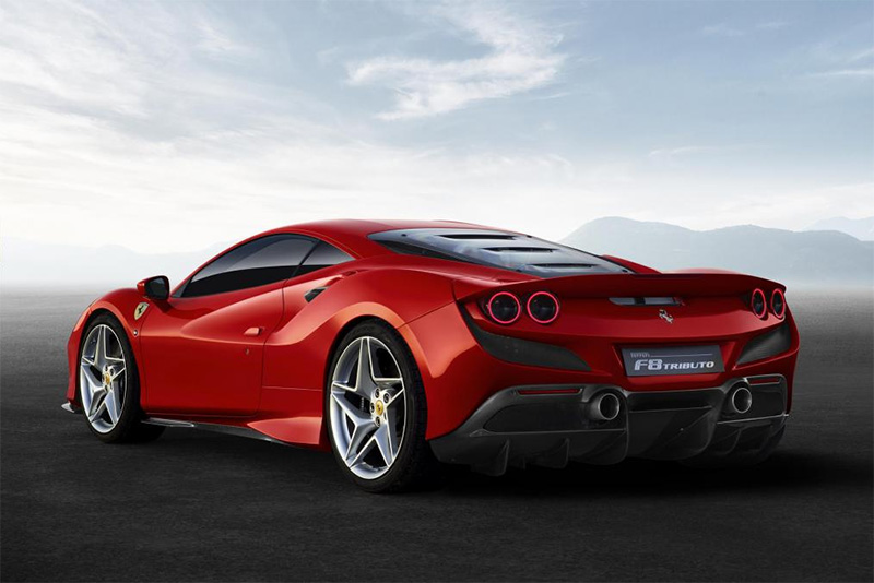 cars,488,308 GTB,F40,supercar,3.9-litre,launch,Geneva Motor Show,replacement,new model,debut,twin-turbo V8,710bhp,Ferrari F8 Tributo,Automotive,