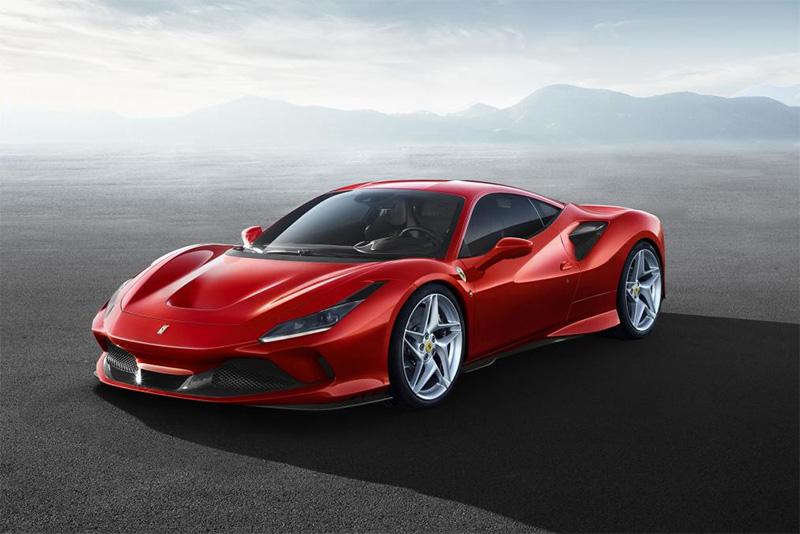 Ferrari Debuts The 710bhp F8 Tributo