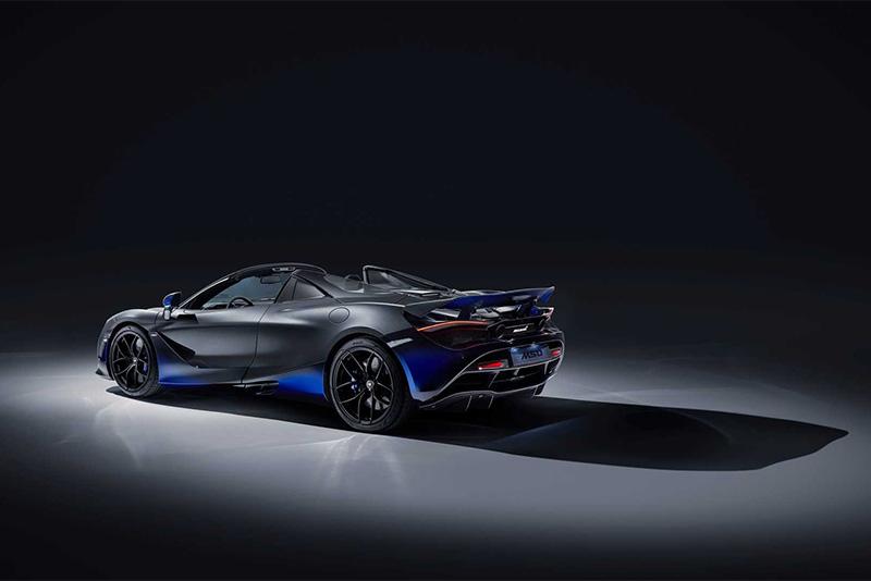 new,bespoke,cars,Geneva Motor Show,aerodynamix,blue paint,MSO,McLaren Special Operations,McLaren 720S Spider,Automotive,