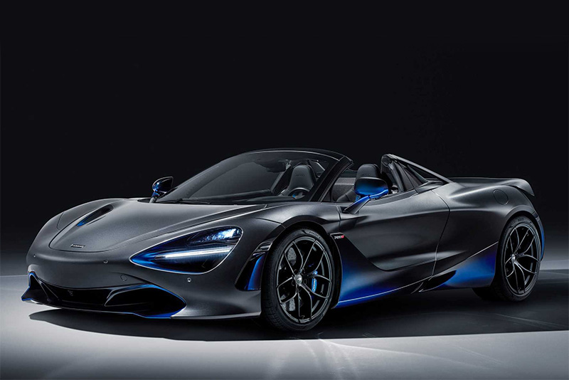 new,bespoke,cars,Geneva Motor Show,aerodynamix,blue paint,MSO,McLaren Special Operations,McLaren 720S Spider,Automotive,