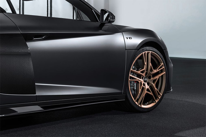 cars,matte gray,bronze mags,bespoke,limited editon,V10 engine,Audi R8 Decennium,Automotive,