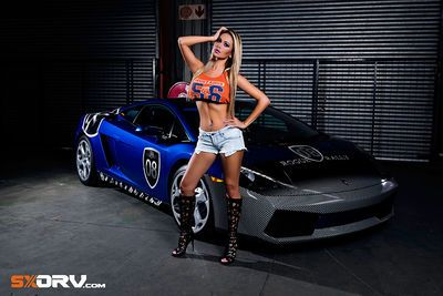 Naomi Das - Lamborghini Gallardo - Exclusive Interview & Pictures