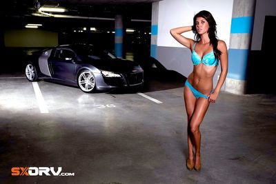 Megan Skye Strydom - Audi R8 - Exclusive Interview & Pictures