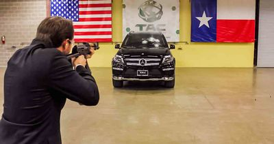 Video: What It's Like To Be Shot At With An Ak-47 In A Mercedes-benz