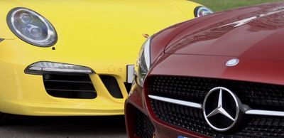 Video: Mercedes-amg Gt Vs Porsche 911 Gts: Track Battle And Drag Race
