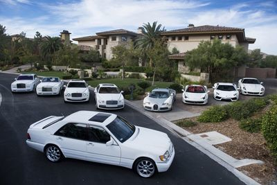 Ballin' On Another Level: Floyd Mayweather's Fleet Of Cars (worth An Estimated $20 Million)