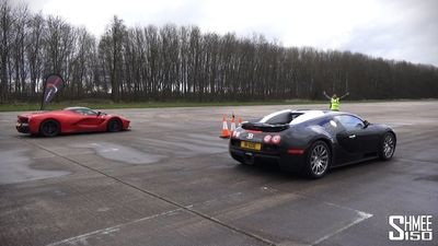 Video: Drag Race: Laferrari Vs Bugatti Veyron