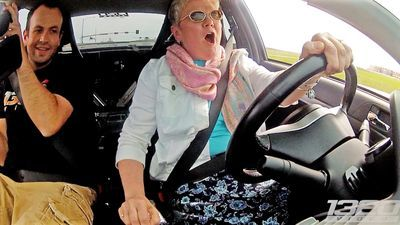 Video: Would You Be Brave Enough To Let Your Mom Drive Your Car?