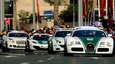 Video: The World's Fastest And Most Expensive Police Cars. Of Course Its Dubai.