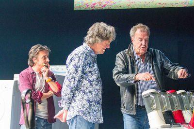 Ken Block's Monstrous Mustang, Lamborghinis & Ferraris Aplenty At Clarkson, Hammond & May Live