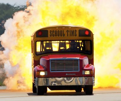 Video: Best Schoolbus In The World, No More Excuses About Being Late, Ever!