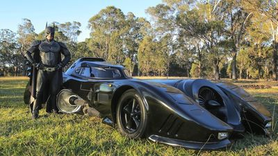 Video: Anybody For A Batmobile? Young Man Spends Two Years Building Replica Of The 1989 Batmobile.