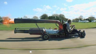 Video: Jet-powered Go-kart. Nuff Said!