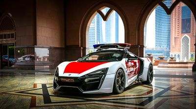 Video: A 3.4 Million Dollar Supercar For A Police Car, Well Why Not?