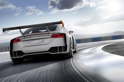 600hp Audi Tt Clubsport. Get Ready To Drool!
