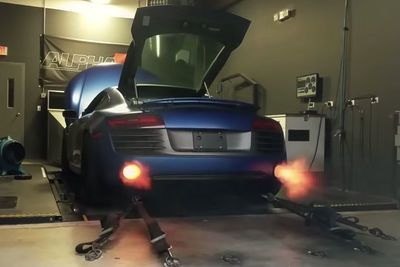 Video: A Marshmallow Melter Like No Other, The Ams Alpha R8 V10 Twin Turbo