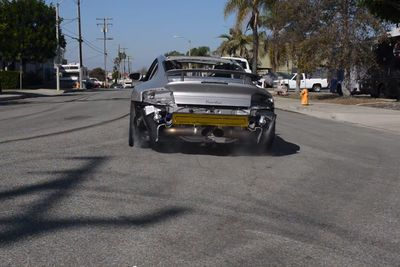 Video: Half-naked,  Damn Loud And Running Twin-turbos. Yes It's A Monster!