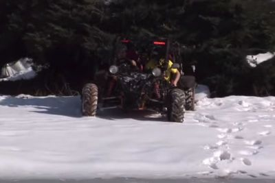 Video: An Ice Burnout Was Never Going To Turn Out Great. When Logic Fails You...