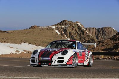 Video: Pikes Peak, A Porsche 911 Gt3 Turbo Cup And Copious Amounts Of Turbo Spool! Jeff Zwarts Just Won The Time Attack 1 Class.