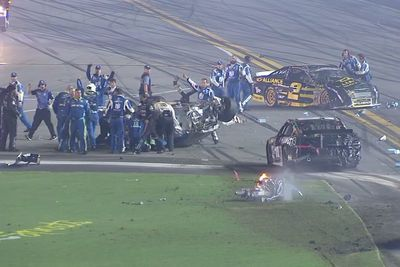 Video: Nascar Pile-up Leads To Damn Nasty Crash!