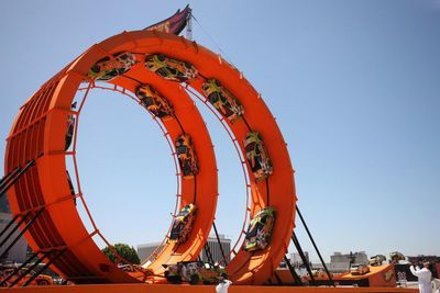 Video: Hot Wheels Double Dare Loop