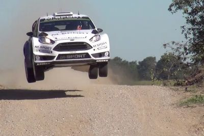 Video: Spectators With No Fear In Their Bones Getting As Close As Possible To Some Intense Rally Action!