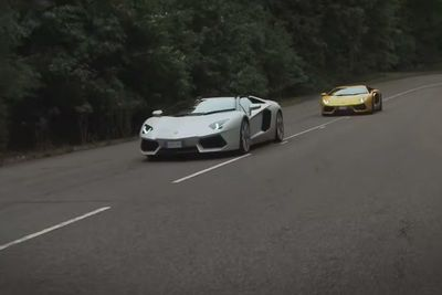 Video: Can A Lamborghini Aventador Fly...