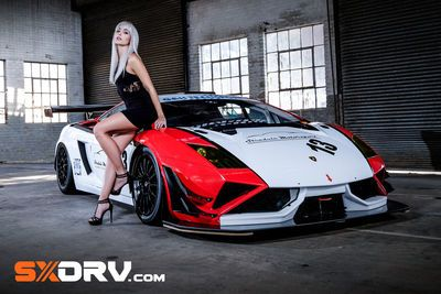 Michelle Koch - Lamborghini Gallardo Fl2 Gt3 - Exclusive Interview And Pictures