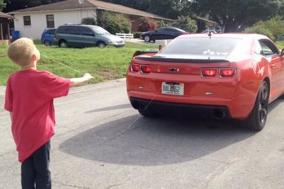 Video: What Musclecars Are Made For, Pulling Teeth!
