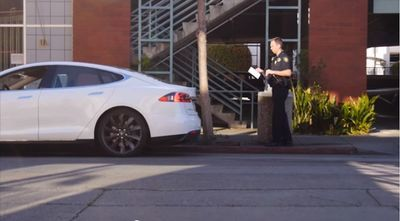 Video: Tesla Introduces Ticket Avoidance Mode By Software Update For Model S!
