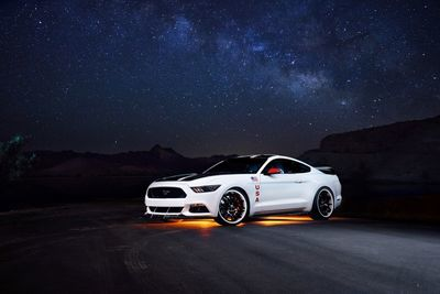 Ford Pays Tribute To Nasa With A One-off Mustang Making 627hp