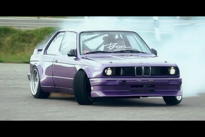 Video: How To Turn A Bmw E30 Into A Monster, Just Drop In A Boosted V8!