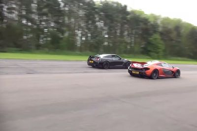 Video: Can The Almighty Mclaren P1 Be Taking Down By A Nissan Gt-r?