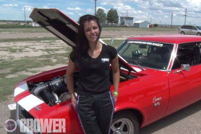 Video: A 18 Year Old That Races A 8 Second Twin Turbo Camaro! That's Pretty Hot!