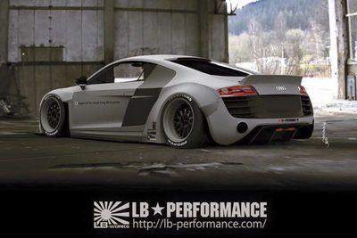 Liberty Walk Confirms New Audi R8 Widebody
