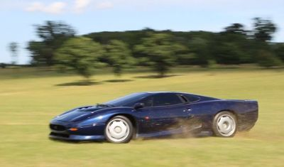 Video: Let's Take A Very Rare Jaguar Xj220 For A Countryside Joyride!