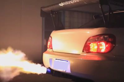 Video: This One's For The Scooby Fans! Anti-lag, Launches And Massive Flames!
