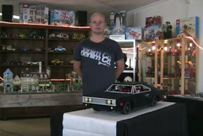 Video: A Dodge Charger Built Completely Out Of Lego, With Working Motor!