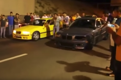 Video: When Losing A Drag Race, Kicking The Crap Of Your Own Car Isn't The Brightest Thing To Do.