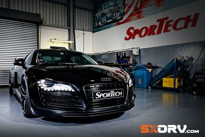 How Do You Double The Fun In Your Audi R8? Just Add Twin Turbos!