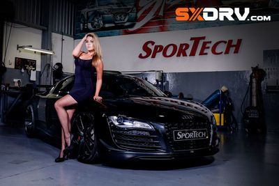 Bianca Pieterse - Audi R8 Twin Turbo - Exclusive Interview & Pictures
