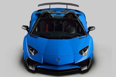 Convertible Lamborghini Aventador Sv Unveiled At Pebble Beach