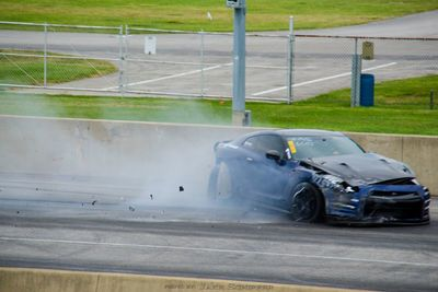Video: 2000hp Alpha 20 Gt-r Crashed Hard!