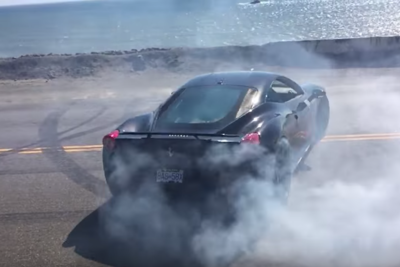Video: Stopping Traffic To Do A Burnout In Your Ferrari 458, Sounds Good To Us!