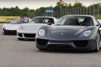 Video: This Guy Bought 3 Amazing Modern Day Supercars And Immediately Took Them To The Track!