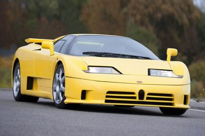 Video: One Of The Coolest Supercars Of The 1990's, The Bugatti Eb110 Ss