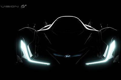 Hyundai Teases Their Vision Gran Turismo Concept Before Frankfurt