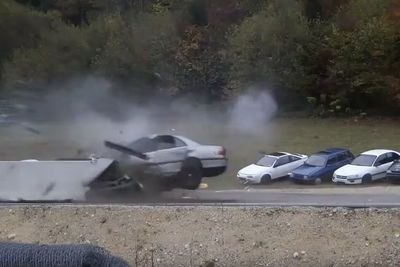 Video: Smashing Cars At 200km/h. All In The Name Of Fun!